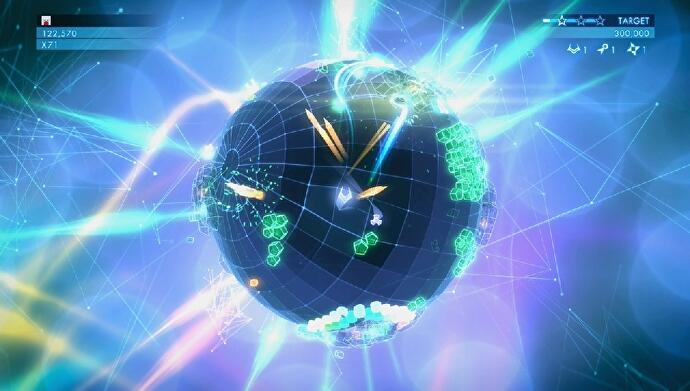 Geometry Wars 3 Dimensions Evolved c