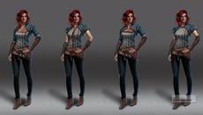 More early Triss.