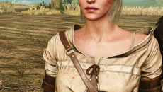 Ciri before her hair changed. And her eyes are different too.