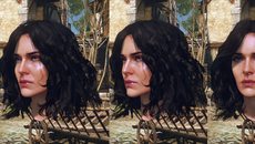 Yennefer's look caused a lot of issues. This is a fourth version, getting closer to how she looks now.