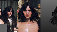 Yennefer's evolution. Nearly there.