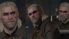 When The Witcher 2 was being made, Geralt's face changed dramatically. It was made more realistic. It was shown to the fans who didn't like it, so a compromise was made. And this is the face we were more or less stuck with.