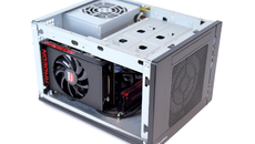 The small size of the Nano will undoubtedly help with air flow and cable management – particularly in cases like the SG05, where PSU cables are very difficult to deal with.