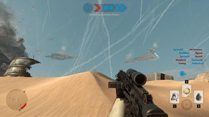 Star Wars Battlefront Jakku 1
