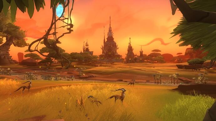 NCSoft's sci-fi MMO WildStar will launch in 2013