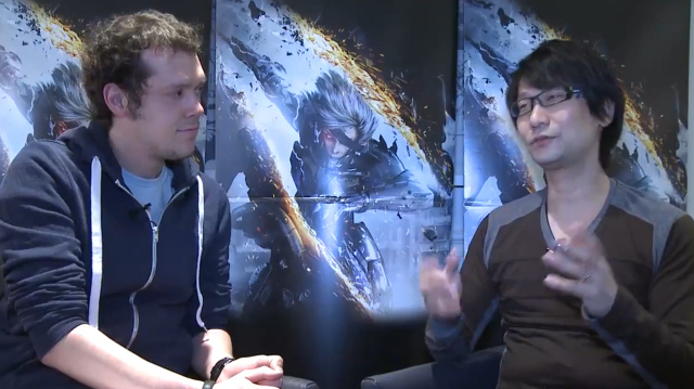 Hideo Kojima: Metal Gear Rising 'Originally Open-World'