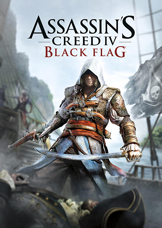 Assassin's Creed: IV Black Flag boxart