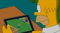 The Simpsons: Tapped Out - Boy Racks Up $1500 Bill