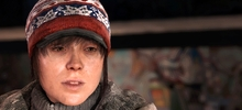 Marketing wilde Beyond: Two Souls cover met pistolen
