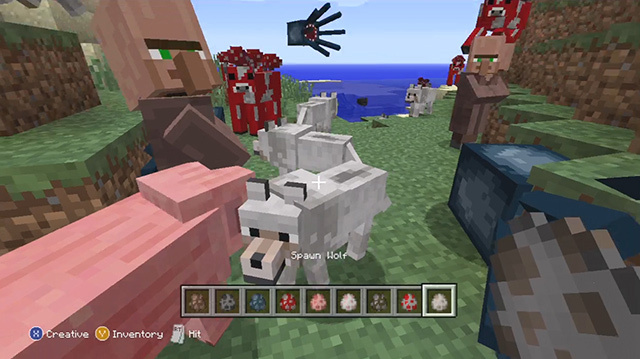 Minecraft Xbox 360 Update: Spawn Egg Jamboree