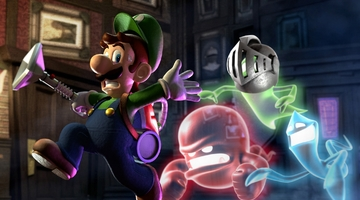 Luigi's Mansion holds top spot in Japan