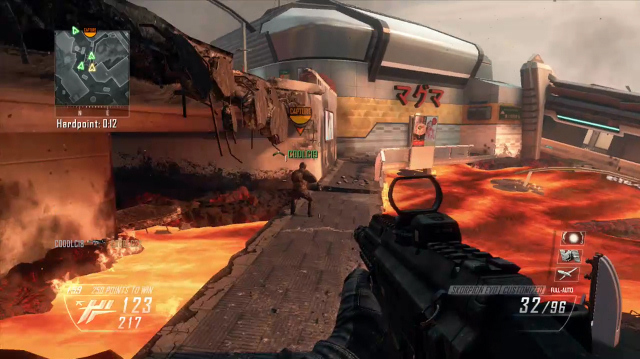 Black Ops 2 Uprising Multiplayer Maps Played