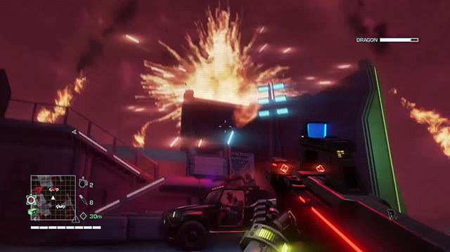 Far Cry 3 Blood Dragon: Watch a Blood Dragon Shoot Down a Helicopter