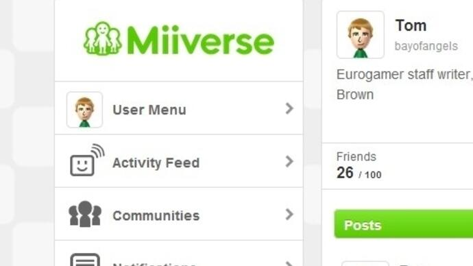 Nintendo launches web-based Miiverse for PC and smartphones