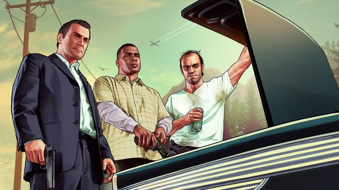 Grand Theft Auto 5 shown off in three new trailers