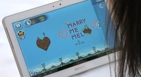 Angry Birds Wedding Proposal: Rovio Creates Custom Level