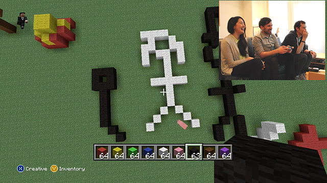 Minecraft Pictionary Strikes Again with Unguessable 3D Doodles