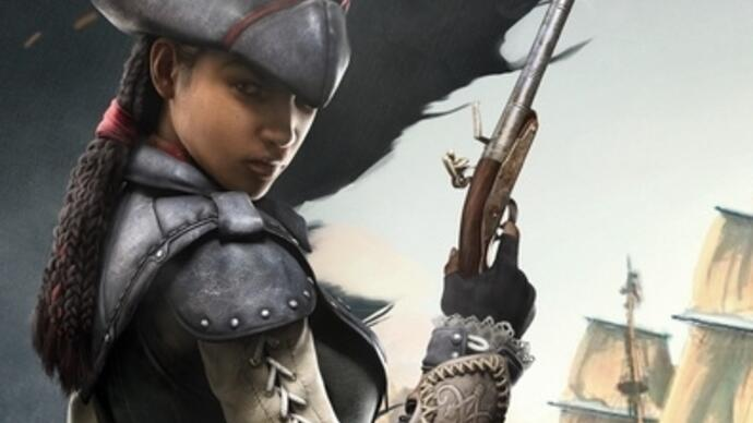 PlayStation-exclusive Assassin's Creed 4: Black Flag content stars AC3: Liberationheroine