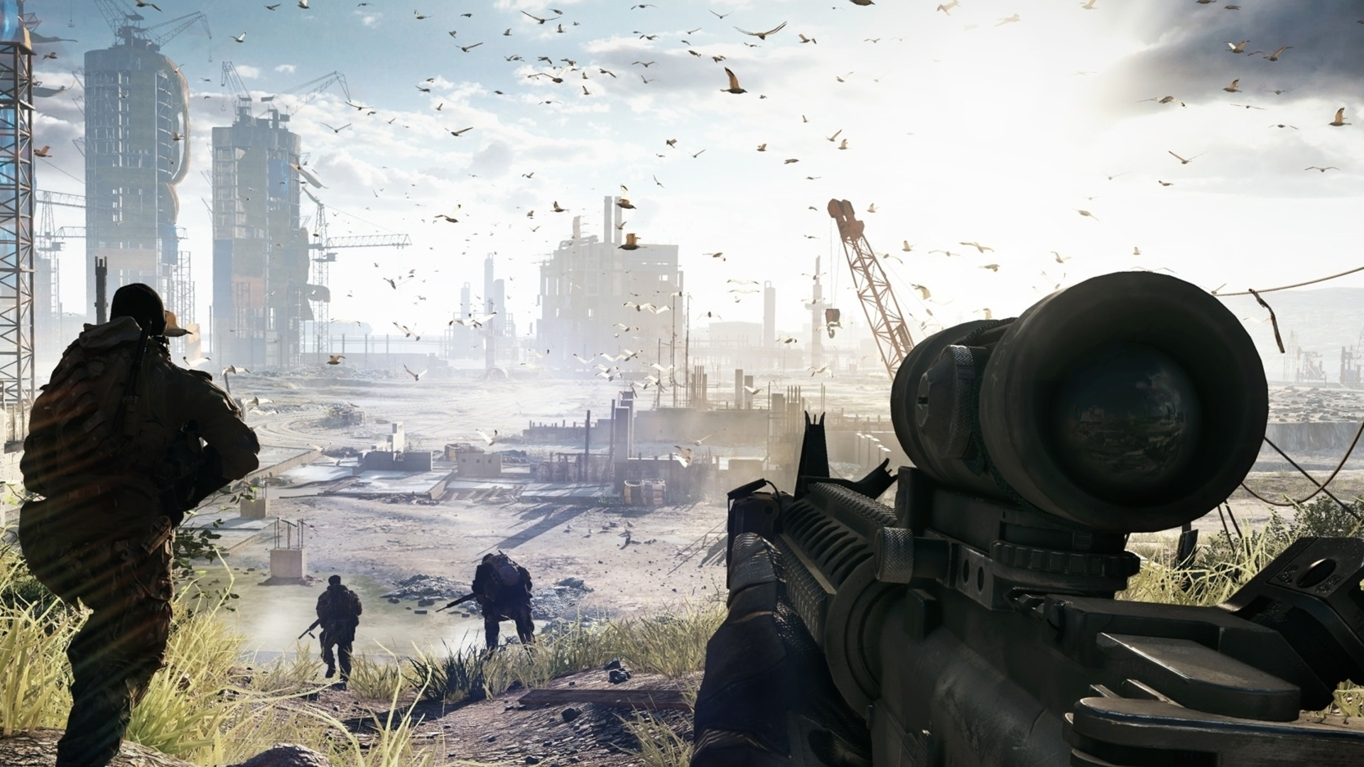 Battlefield 4 dev DICE on Commander Mode and the importance of 60fps