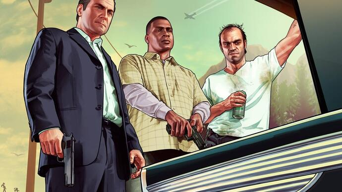 GTA V - Primeiro trailer gameplay