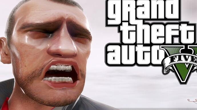 Niko reage ao trailer gameplay de GTA V
