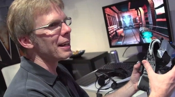 "Carmack criticises ""fundamentally poor"" Kinect interactions"