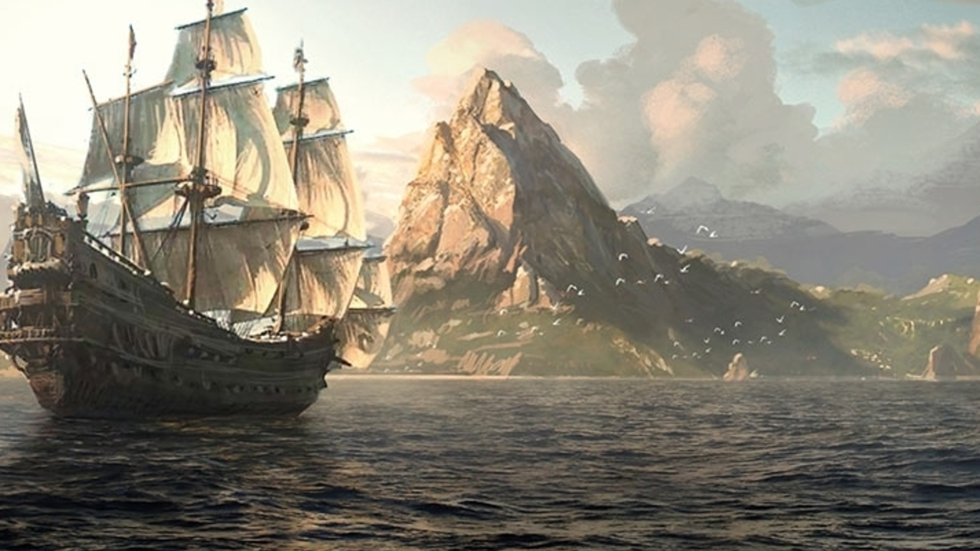 Assassin's Creed 4's open world takes half an hour to sail across
