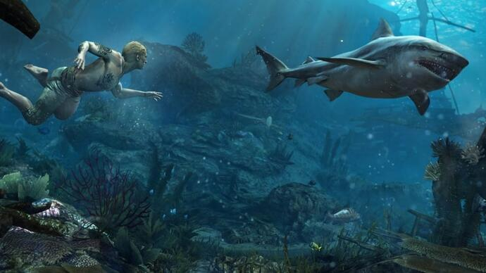 Submerge yourself in Assassin's Creed 4's underwatergameplay