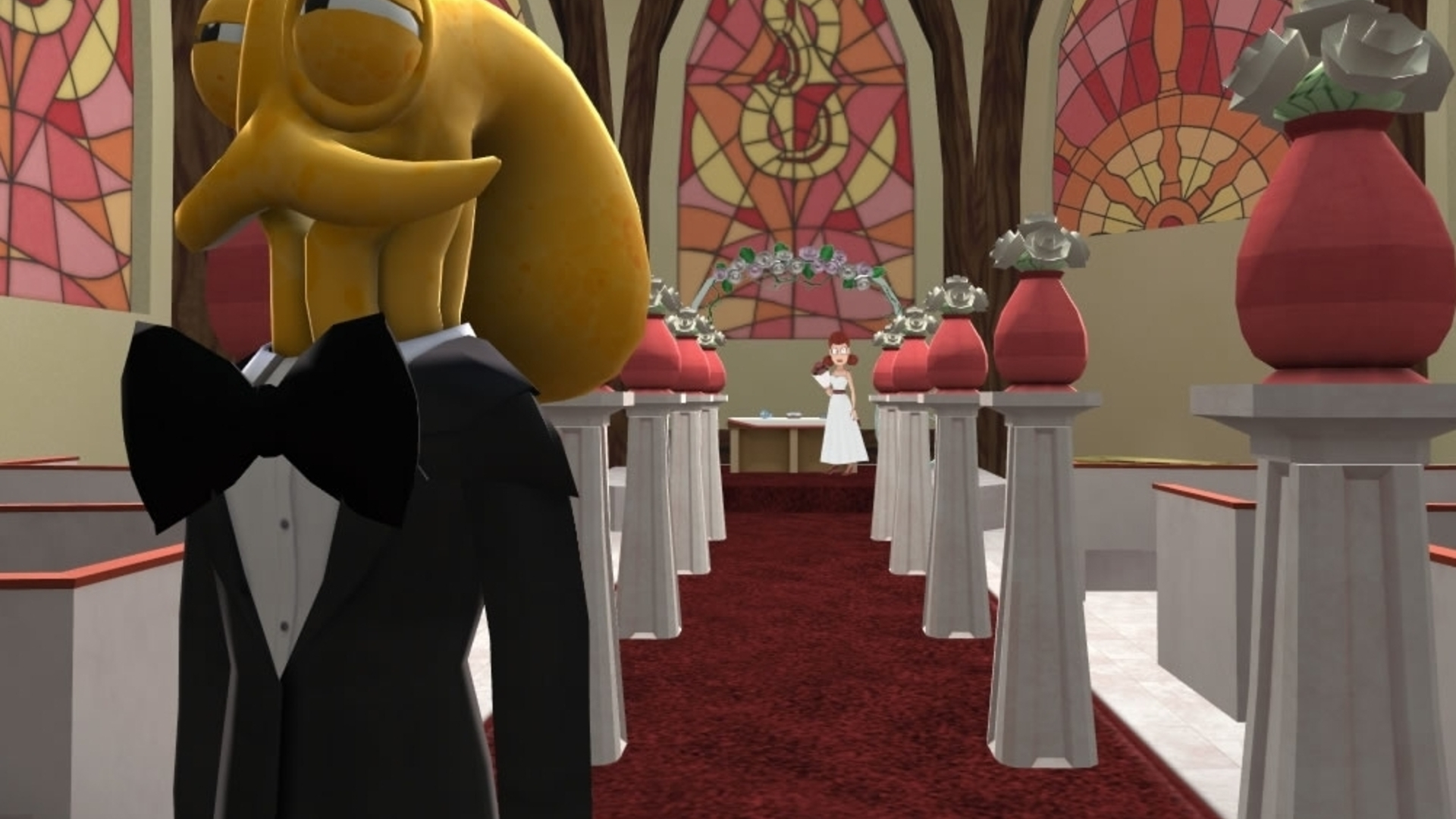 Eight arms to hold you: Getting hitched in Octodad: The Dadliest Catch