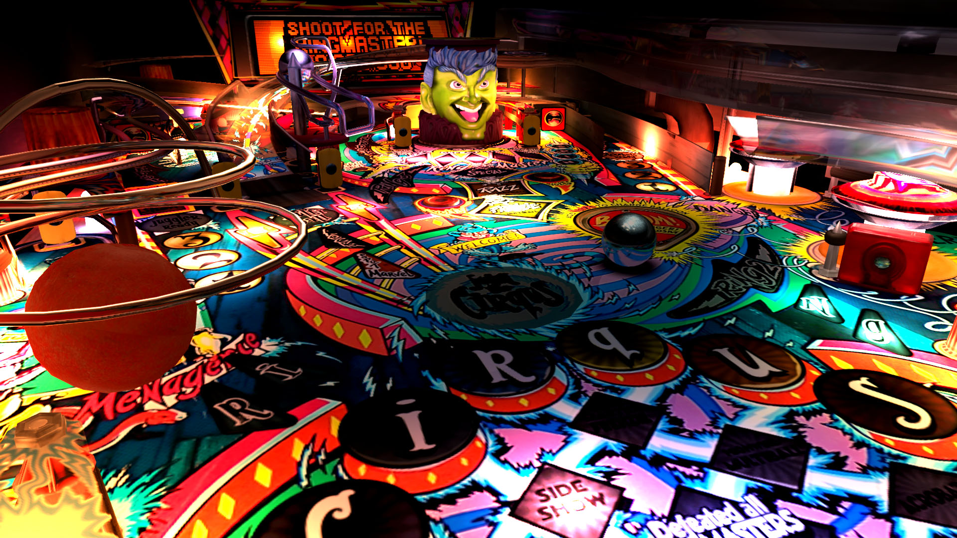the pinball arcade desktop -#main
