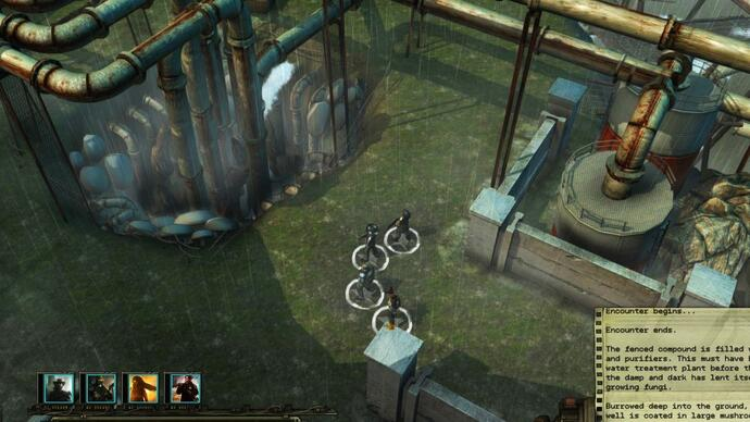 Two new Wasteland 2 screenshots released as beta nears