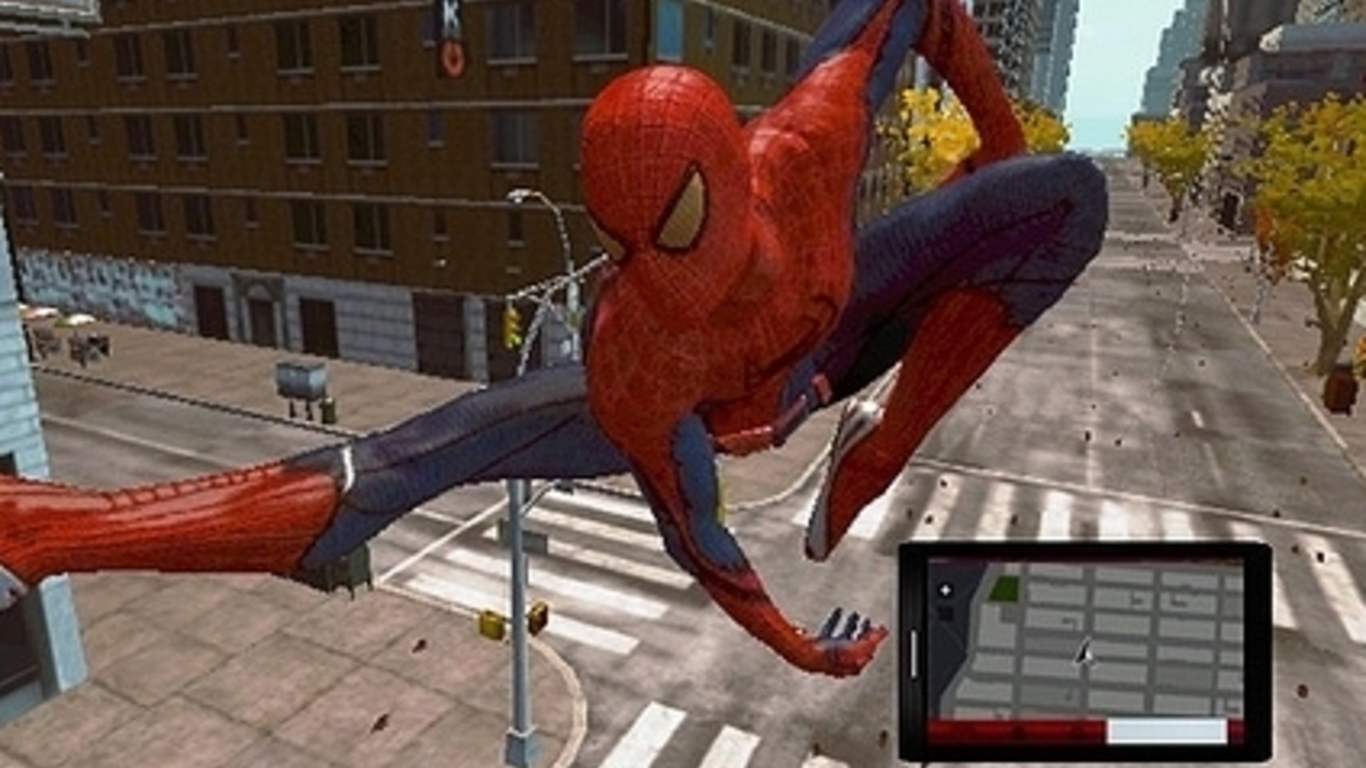 The Amazing Spider-Man swings onto Vita later this year
