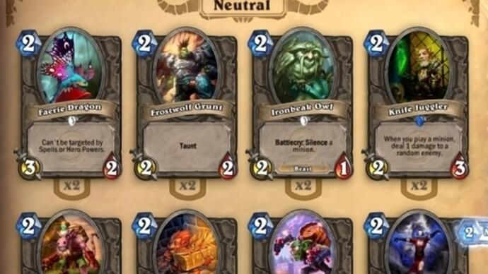 Mais 50 chaves para a beta do Hearthstone: Heroes of Warcraft