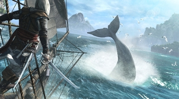 Black Flag beats Battlefield 4 to top of UK charts