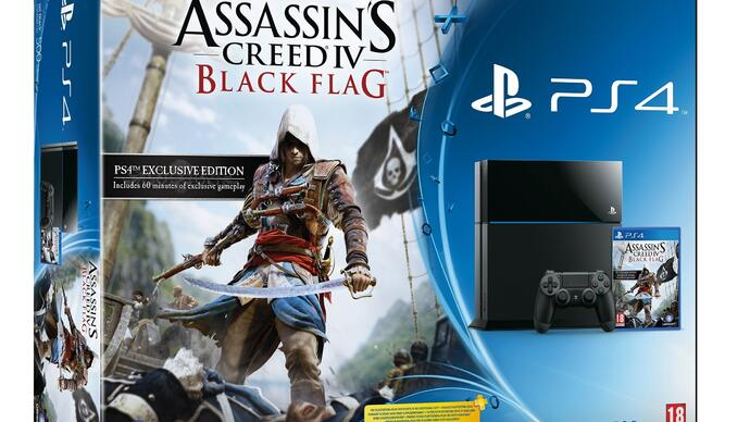 Assassin's Creed 4 PS4 bundleannounced