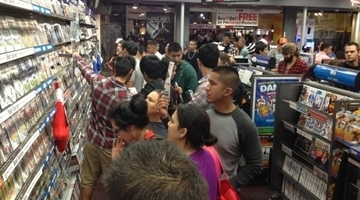 GTA V, 2DS drive big numbers for GameStop
