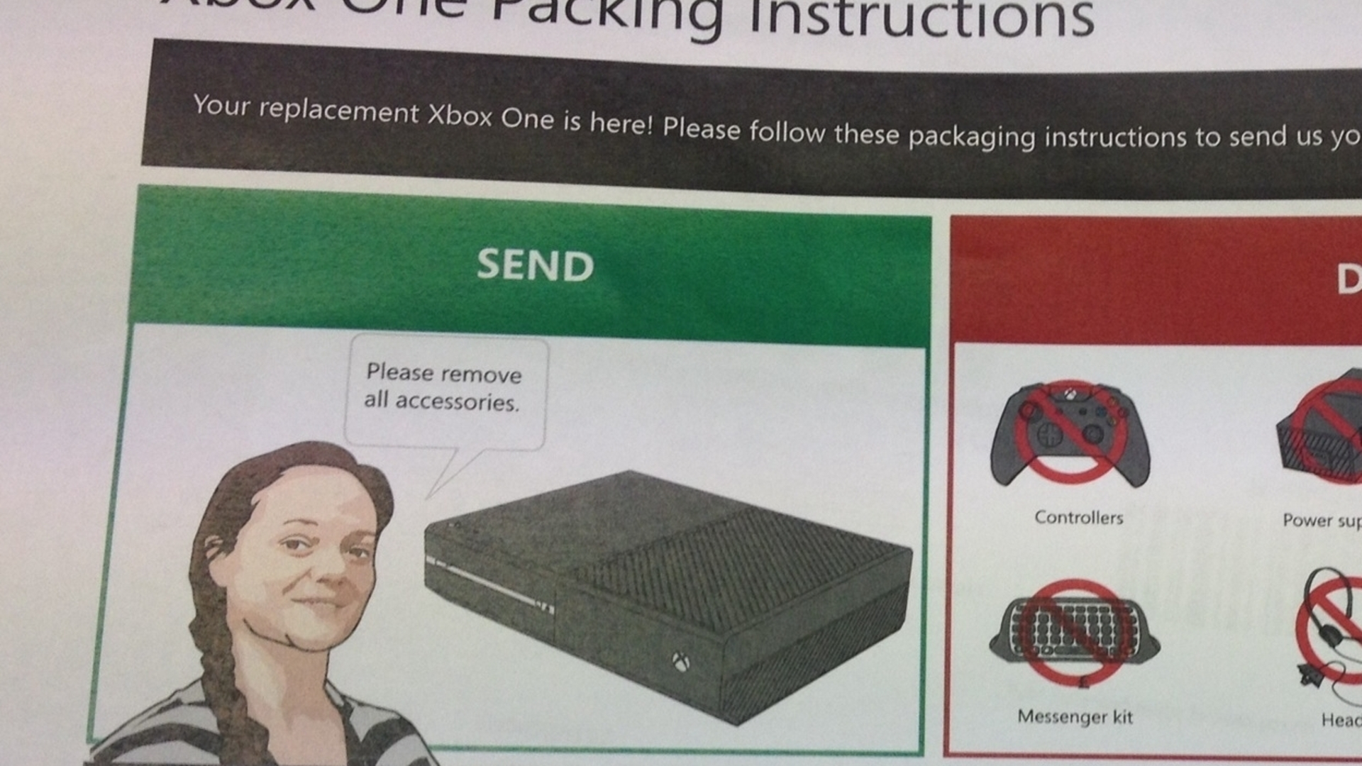 A DOA Xbox One, Microsoft support and a paperclip