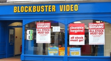 Blockbuster's remaining UK stores to close