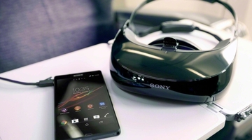 Sony reveals new head-mounted display