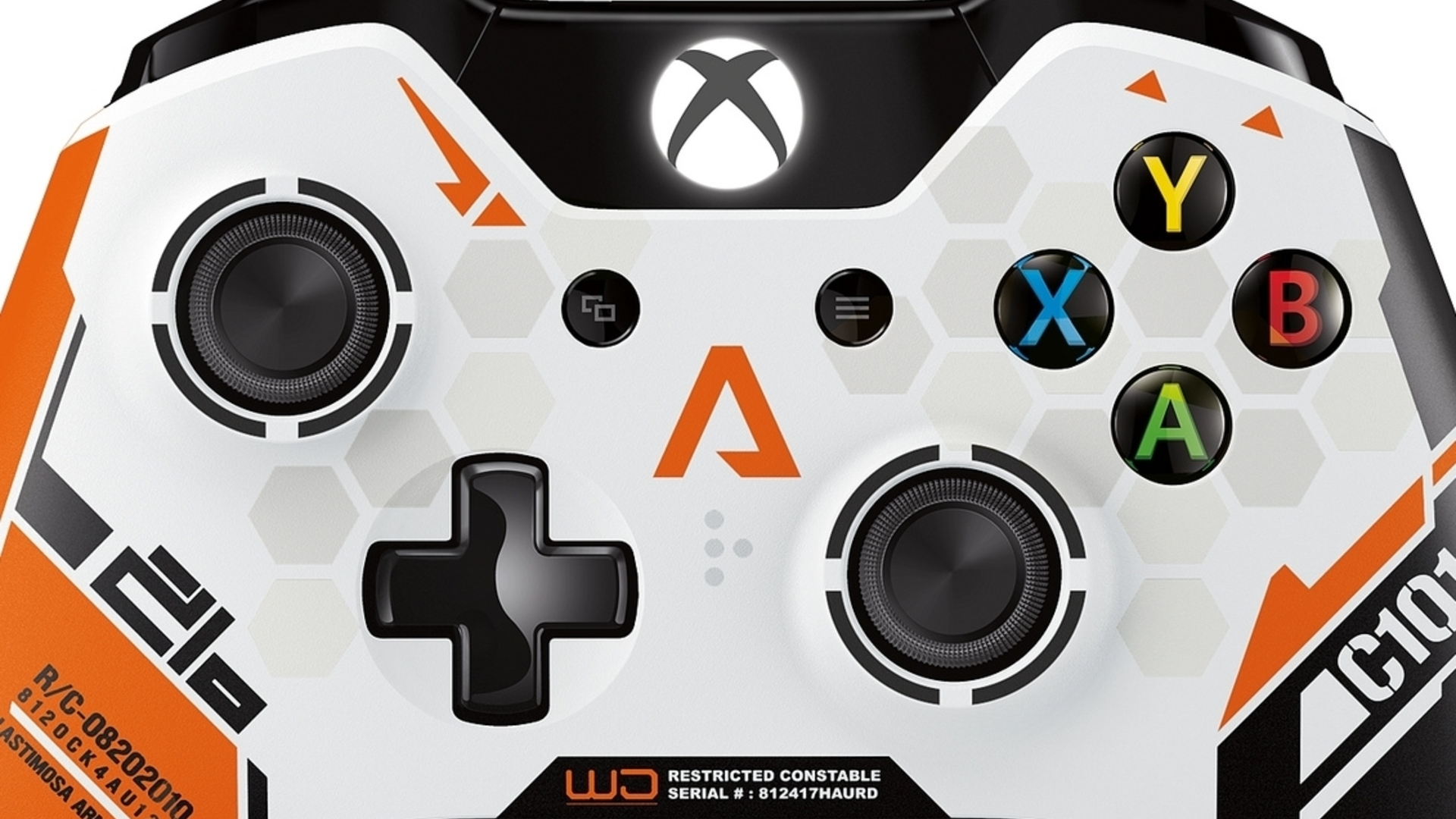 Xbox One's limited edition Titanfall controller looks like this