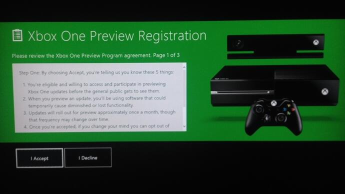 Microsoft invites Xbox One owners to test next update