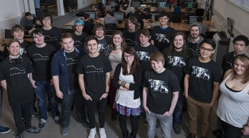 Abertay students working on FuturLab prototypes
