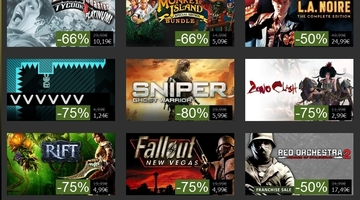 Developers can now set their own Steam sales