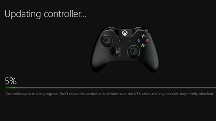 Xbox One controller must be updated for stereo headset adapter to work
