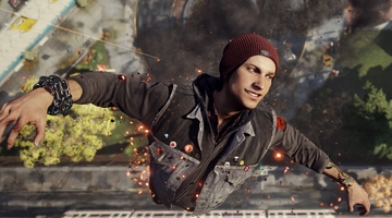 Infamous: Second Son stays at #1