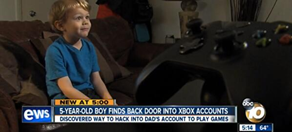 bb3329a3d37b2d Five-year-old discovers Xbox password flaw • Eurogamer.net