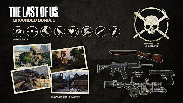 The Last Of Us Final DLC The Grounded Bundle Detailed - Last of us dlc maps