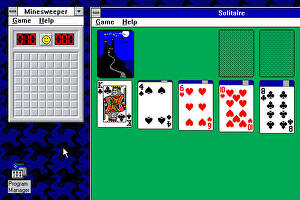 Solitaire layout