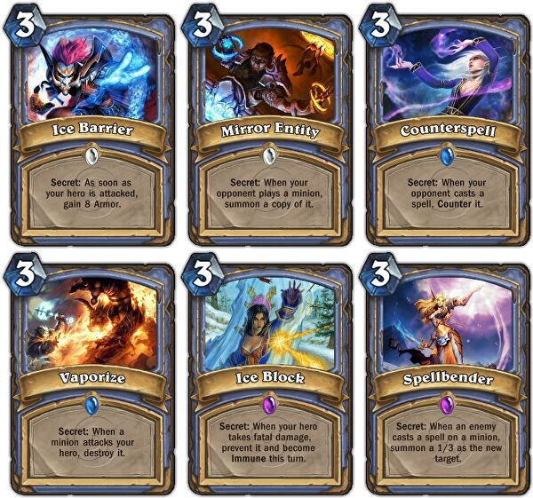 hearthstone best free mage deck basic deck mage cards