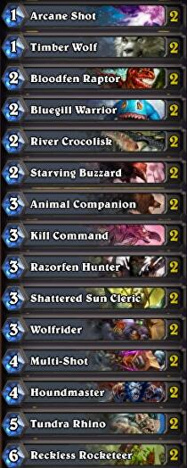 hearthstone-best-free-hunter-deck